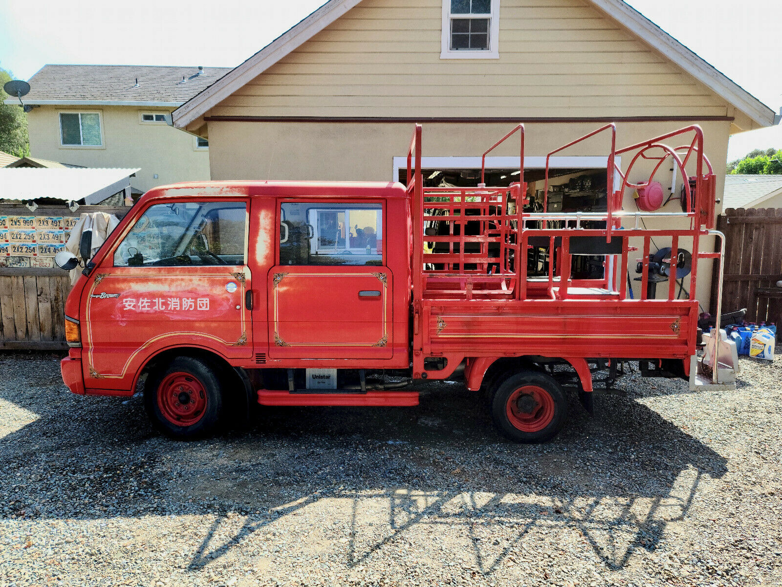 アメリカ 消防 車